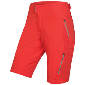 Endura Single Track Lite II Cycling Shorts Women red